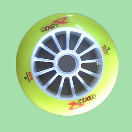 8 Pieces lot Schankel Edge Inline Speed Skates Wheels High Elastic 110mm 88A Hardness Speeding Skate