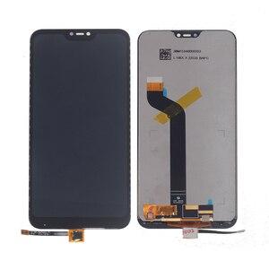 Image 2 - OriginalสำหรับXiaomi Redmi 6 Pro Mi A2 LiteจอแสดงผลLCD Touch Screen Digitizer AssemblyสำหรับRedmi 6 Proเปลี่ยนกรอบ