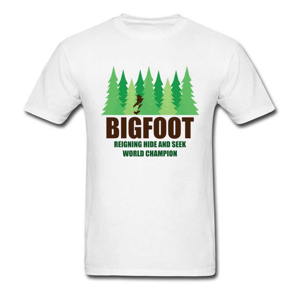 de416227c Green Forest Earth Day T Shirt For Men Bigfoot Sasquatch Hide And Seek Twin  Peaks T