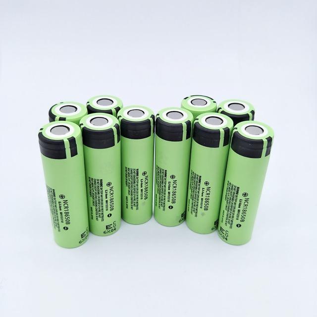 10pcs/lot New Original NCR18650 3400 34B Rechargeable Li-ion battery 3.7V 18650 3400mAh