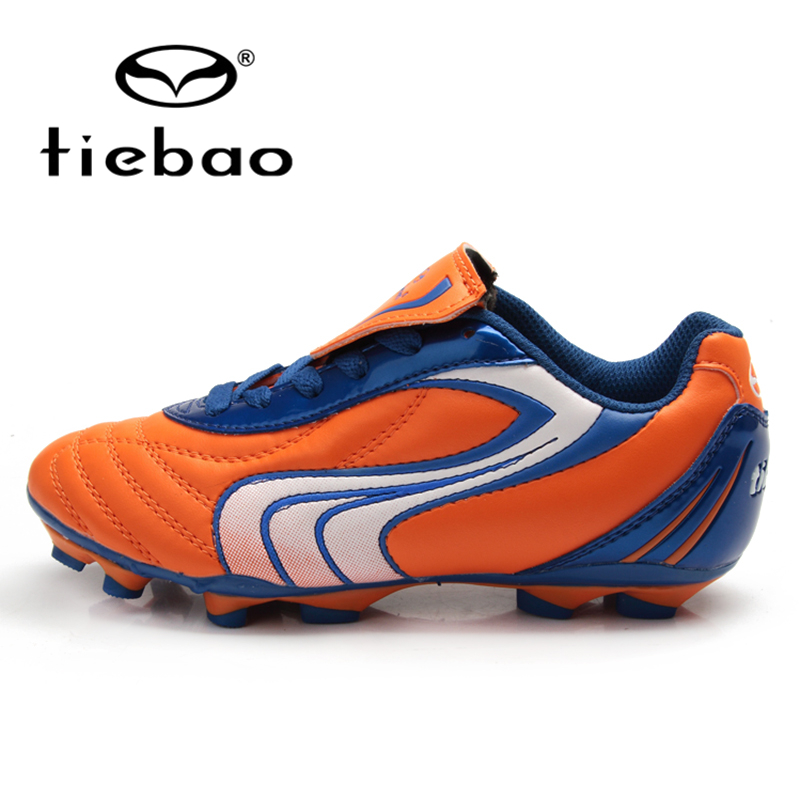 TIEBAO Professional Kids Brand Training Soccer Shoes Teenagers FG & HG & AG Kids Soccer Cleats Sneakers Soccer Training Shoes maultby kid s boy children blue black ag sole outdoor cleats football boots shoes soccer cleats s31702b
