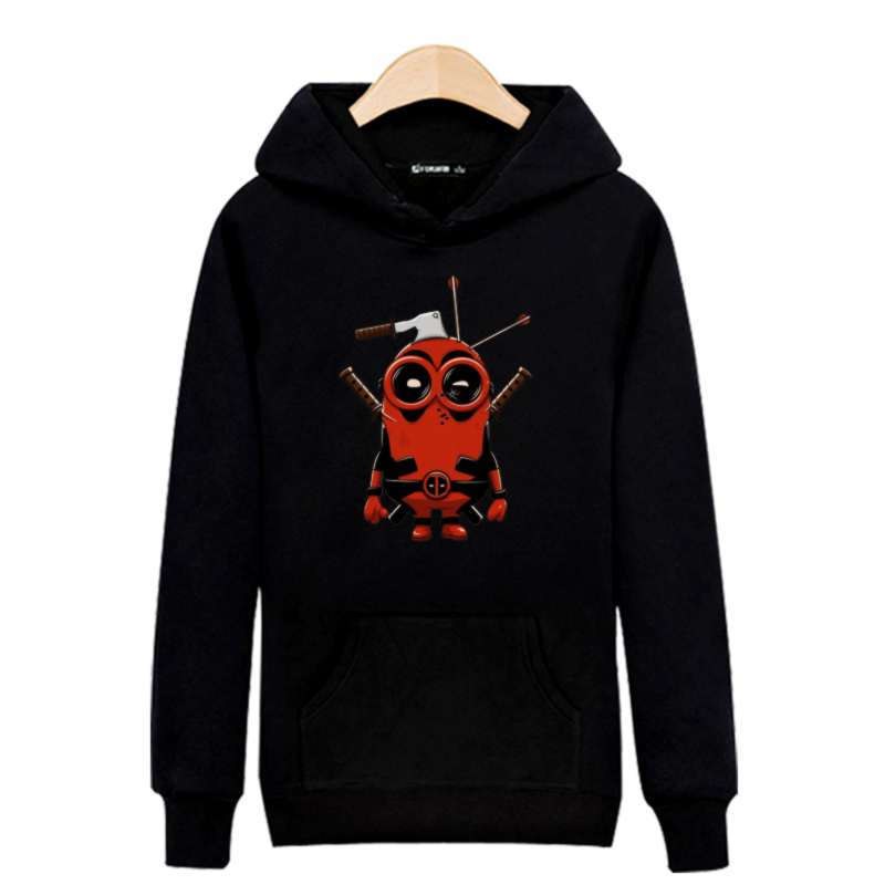 Deed Pool hoodies 2017 spring Winter Hoodies for Men Sweatshirt and hoodied Male hoody Moletom Clothes for Men Dead Pool