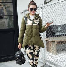 2017 New Winter Jacket Suit Autumn or Spring Warm Plus Size Fashion Parka Coat + Pants 2 Piece Set Woman s13