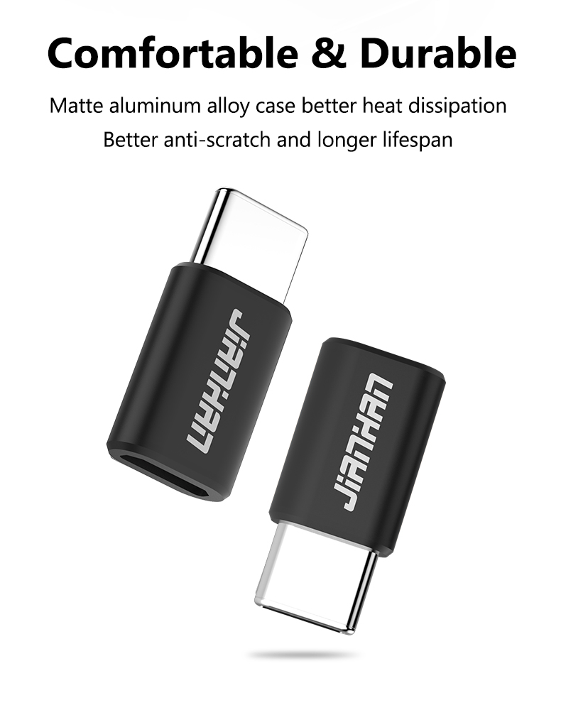 Jianhan Usb Type C Converter Adapter Micro To Charging System Wiring And Main Power Supply Circuit Ndash 2006 Aprilia Rs125 For Huawei P10 Lg G6 G5 Xiaomi 4c Oneplus 3t Lumia 950