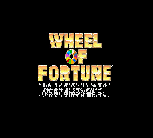 Wheel of Fortune 16 Bit Big Gray Game Card For NTSC USA Game Console