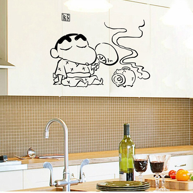 Cute Kitchen Wall Decor: Aliexpress.com : Buy 2016 NEW Cute Home DIY Japanese