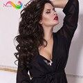 8а Бразильского Виргинские Волос Объемной Волны 3 Расслоения Современного Шоу Волос Продукты Дешевые Бразильские Плетение Волос Пучки Бразильский Человеческих Волос