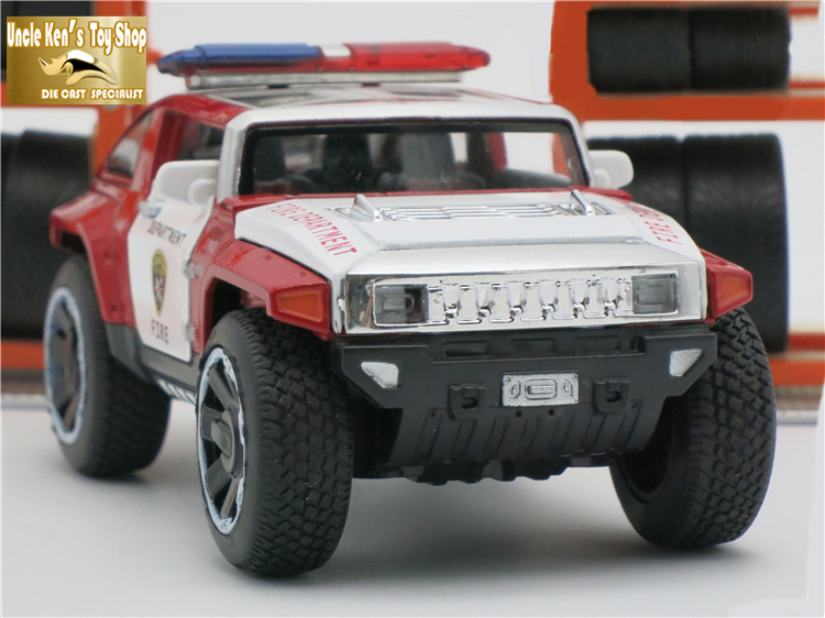 1/32 Scale Hummer Police Diecast Vehicless