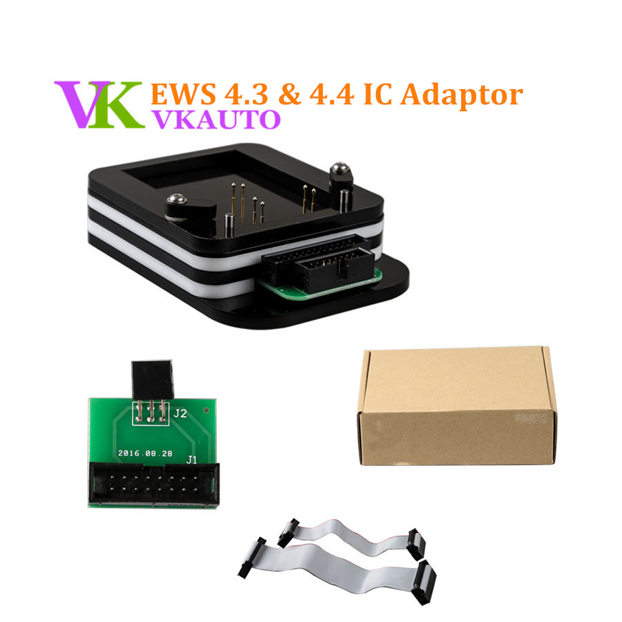 EWS 4.3 4.4 IC Adaptor use for XPROG AK90 R280 Plus and R270 Programmer promotion newest ak90 key programmer ak90 pro key maker for b m w all ews version v3 19 plus ak90 with free shipping