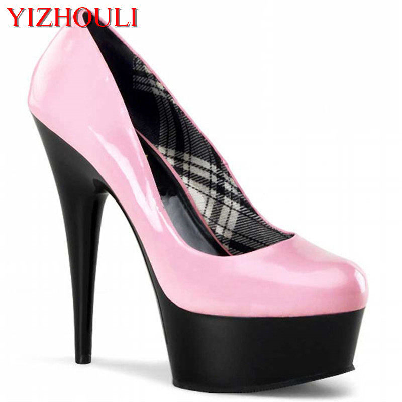 15 cm sexy noir baotou ultra slim dame avec été nouvelles chaussures simples à la mode nouveaux produits