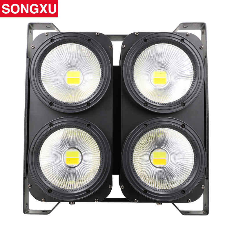 4x100W LED COB Blinder Light 4 Eyes 100W LED Audience Light Optional control LEDs individually SX