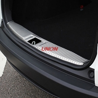 Fit For Honda HRV HR V Vezel 2014 2016 Stainless Steel Inner Rear Bumper Sill Trunk Guard Pedal Protective Cover