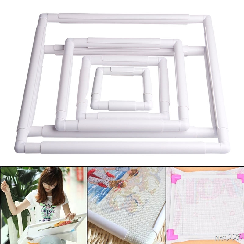 5f09f6e3f0 Handhold-Square-Shape-Embroidery-Plastic-Frame -Hoop-Cross-Stitch-Craft-DIY-Tool-W15-Drop-Ship.jpg