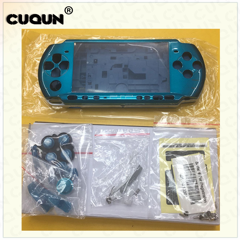 Shell Case For Sony PSP3000 PSP 3000 Shell Old Version Game Console full housing cover case with buttons kit screwdriver