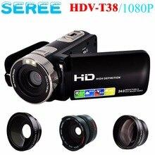 Marvie HDV-T38 FHD с ИК Инфракрасный Видеокамера 1080 P Ночного Видения Цифровая Видеокамера 16X Цифровой Зум 24MP Портативный DV рекордер