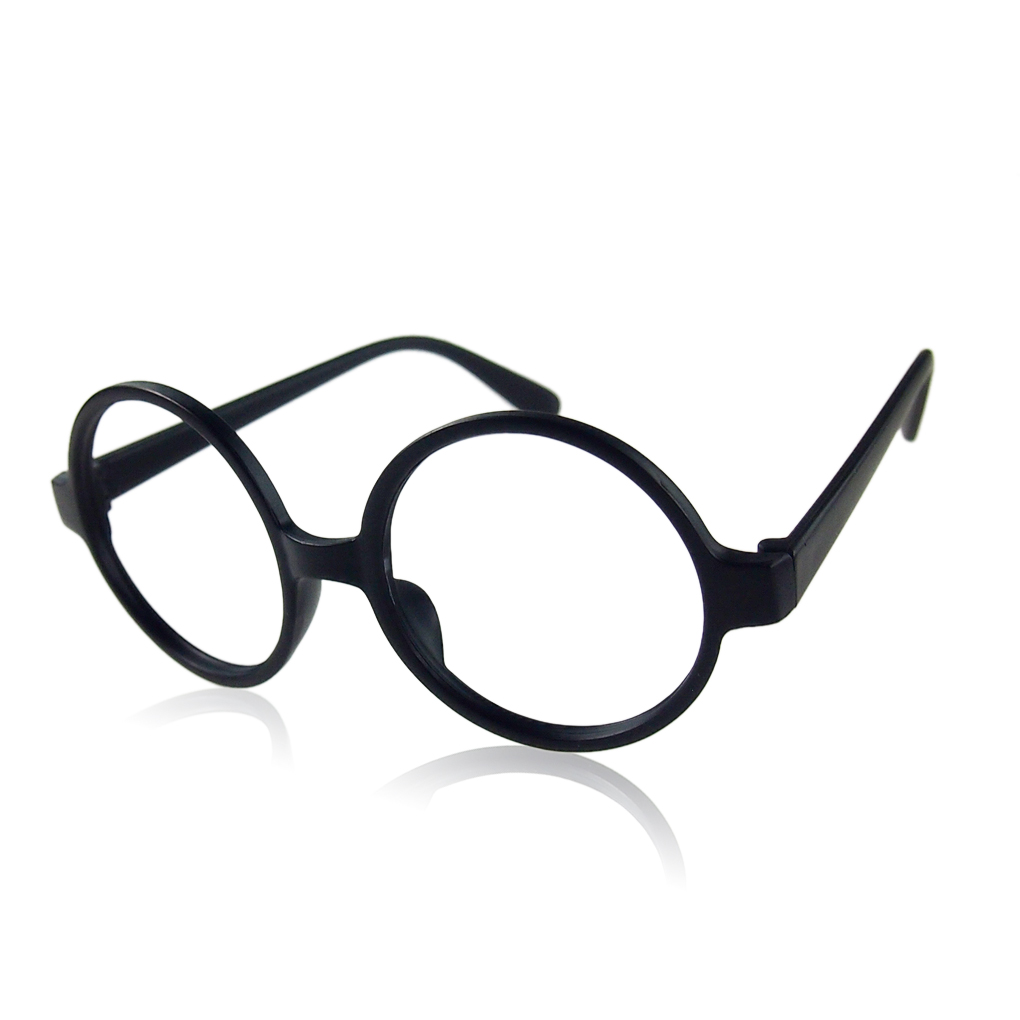 11 color colorful fashion fancy round frame party dress big nerd eyeglasses glasses frame no lens