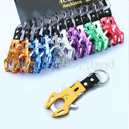 6 pcs/lot Durable Climb Hook Carabiner Clip Lock Keychain Keyring Useful