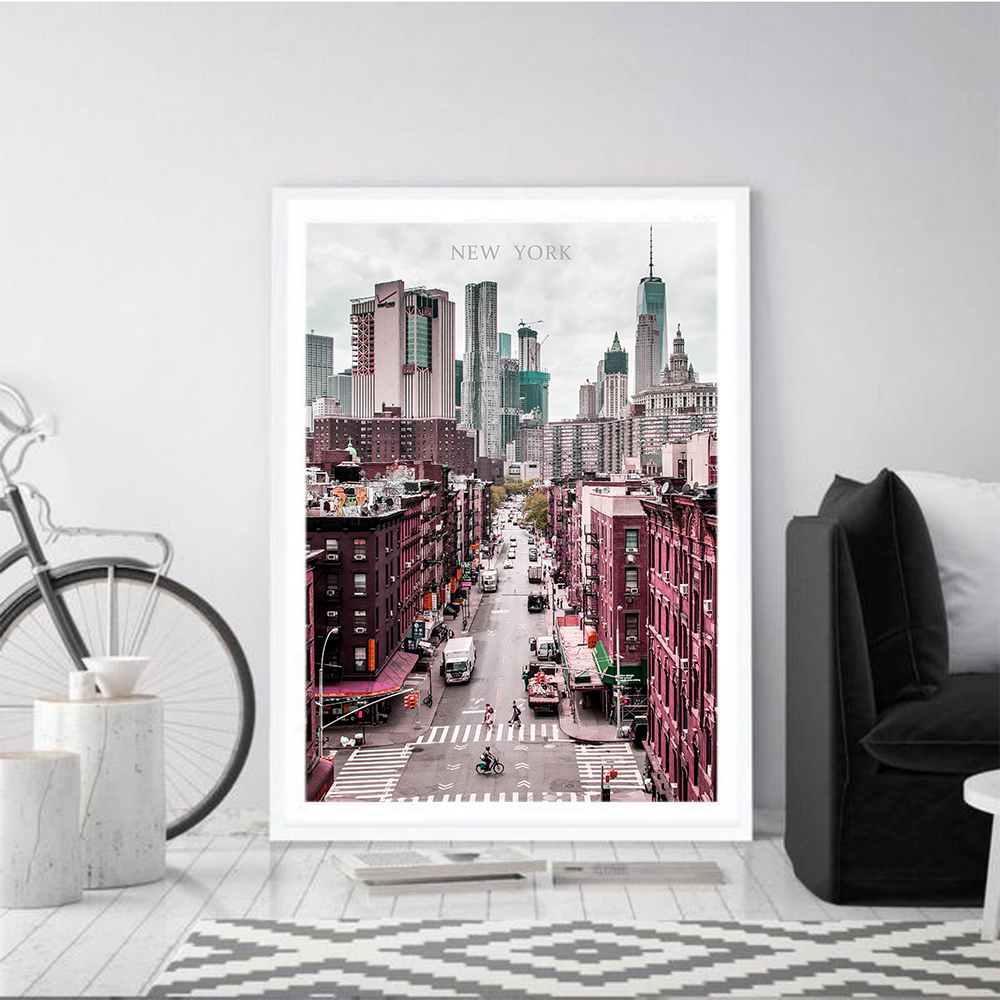 Cuadros Decoracion Wall artwork New York Posters and Prints Metropolis Canvas work Constructing image Print footage Decor for Residence Portray & Calligraphy, Low-cost Portray & Calligraphy, Cuadros Decoracion Wall...