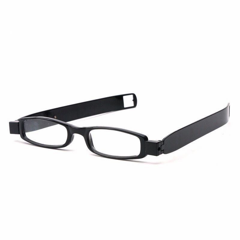360 deg . rotating Portable pen reading glasses folding plastic glasses womens mens eyewear+1.0 +1.5,+2.0,+2.5,+3.0,+3.5,+4.0