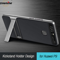 Brand New Innovative 3D Kickstand Hybrid Case Huawei P9 Silicone Cover 5 2 TUP PC Royce