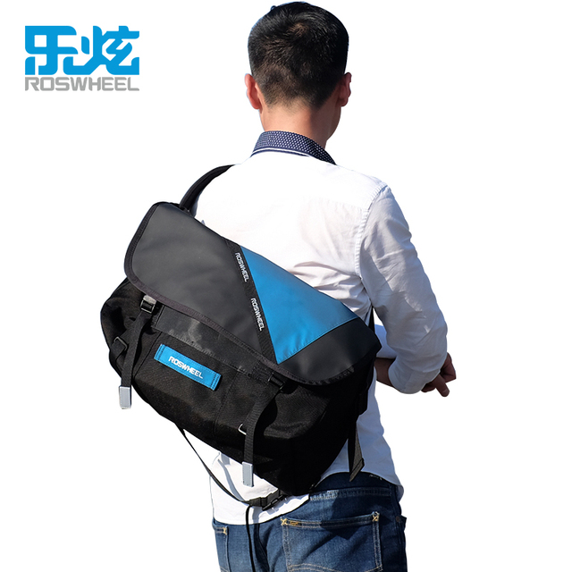 4278c38d8140 ROSWHEEL Cycling Bag Bicycle Bike Cycling Riding Travel Outdoor Pouch Waterproof  Messenger Bag Shoulder Bag 3 Colors-in Bicycle Bags   Panniers from Sports  ...
