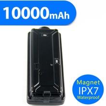 Portable WCDMA GPS Tracker Vehicle 10000mAh Long Lasting Battery Life Waterproof Magnet Car GPS Tracking system free app