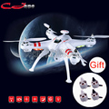 X16 4CH RC helicopter 2.4G 2MP brushless motor Wifi transmission image had more time automatically RC Drone FPV Camera toy plane