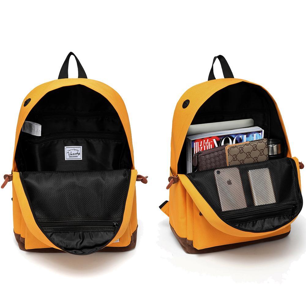 VASCHY Mochila Escolar Water Resistant Rucksack Teenage School Bag 1