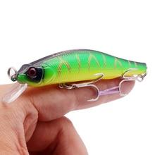 1Pcs 11g/10cm Minnow Fishing Lure Crankbait Isca Artificial Hard Bait Hot Model Wobblers Swimbait For Pike Bass