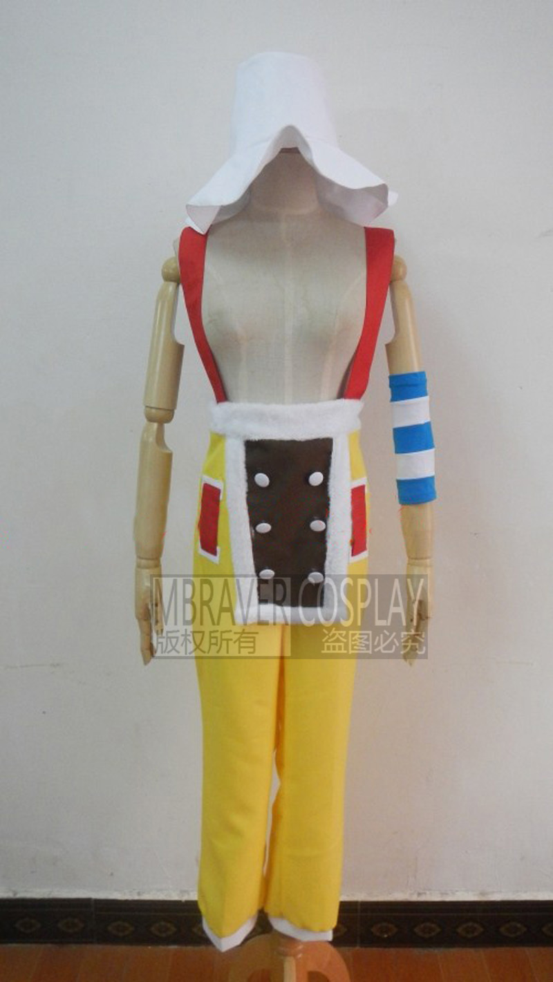One Piece Cosplay Usopp Cosplay Costumes Two years Later Suit - Any Size(Free Shipping) Z1001