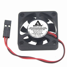 1 шт gdstime dupont 2pin 30 мм 3 см 30x30x7 dc 5 в мини вентилятор