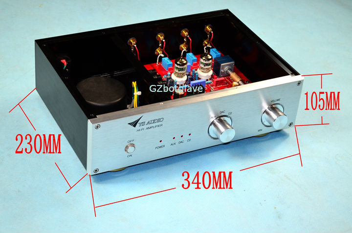 GZbotolave YS-D1 high version HiFi preamp finished have a fever tube machine 5670 tube Preamp Refer to the MatAisDe circuit