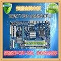 Frete grátis gigabyte ga-ep43t-s3l ddr3 de memória gigabyte 775 motherboard segundo p45 ga-h81-d3