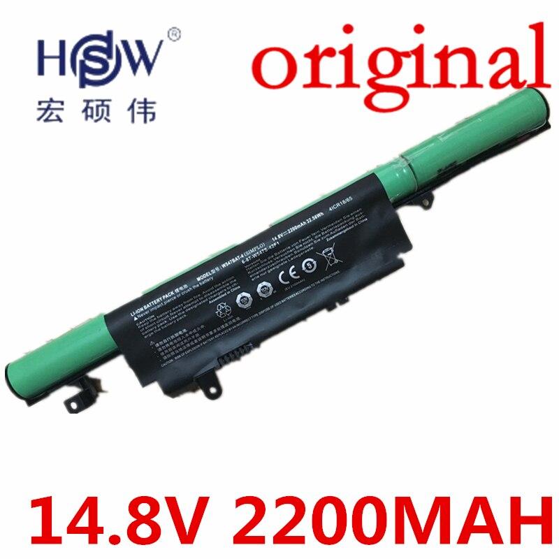 Hsw 14.8 В 4 ячеек Батарея 6-87-w547s-424 6-87-w547s-42f w547bat-4 w547bat-6 для Gigabyt ...