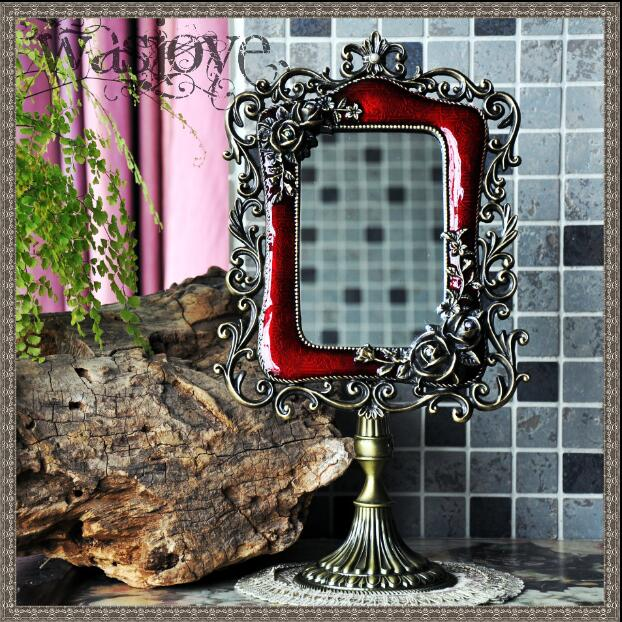 decorative framed mirrors cheap european with antique mirror frame vanity framed for home decoration makeup j024in decorative mirrors from home garden on