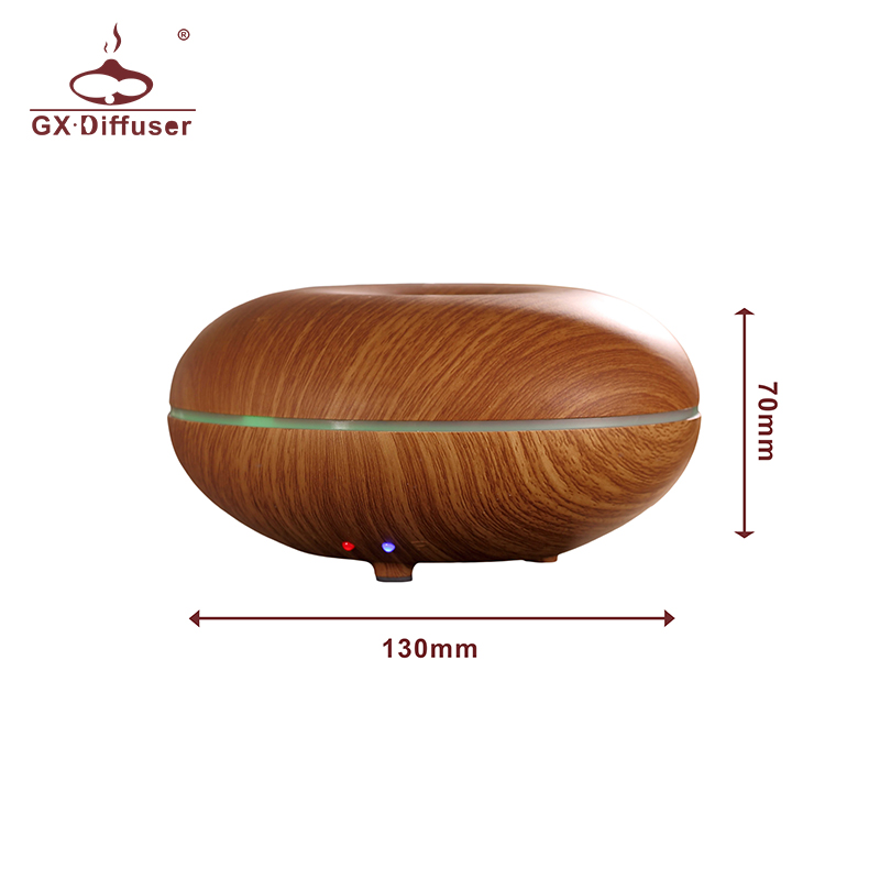 GX Diffuser 7 colors Changing Ultrasonic Air Humidifier Essential Oil Aroma Diffuser Household Aromatherapy Mist Maker Fogger in Humidifiers from Home Appliances