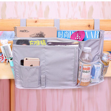 New Oxford Hanging Storage Bag Bed Bedside Sundries Organizer Toy Books Magazines Phone Storage Multi Pocket