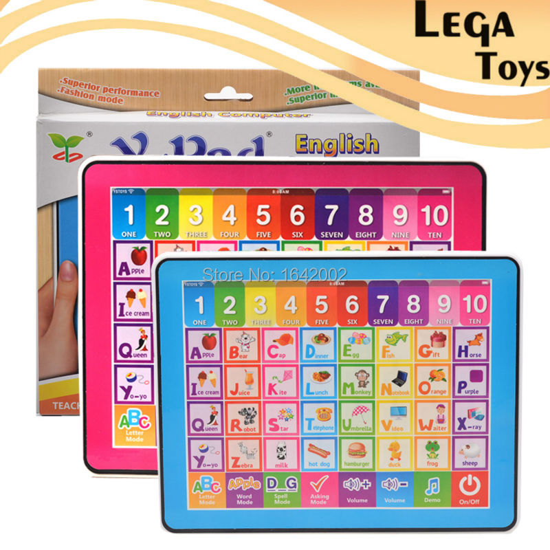 English ABC Computer Educational Toys for Children,Ypad ...