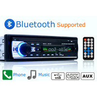 Auto Radio Stereo-Player Bluetooth Telefon AUX-IN MP3 FM/USB/1 Din/fernbedienung 12 V Auto Audio Auto 2017 Verkauf Neue