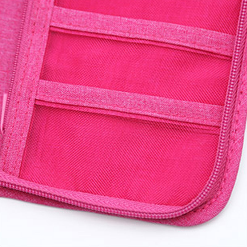 Travel Passport Cover Multifunction Wallet Document Organizer Cover Men Women Business ID Card Holder Case Wrist Strap PC0047 (7)