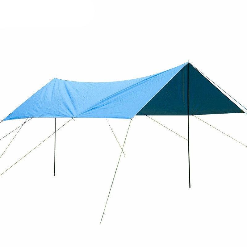 3 m * 4 m Camping en plein air randonnée auvent abri soleil tentes 420D Oxford étanche à la pluie soleil abri tentes auvent couverture soleil abri tente