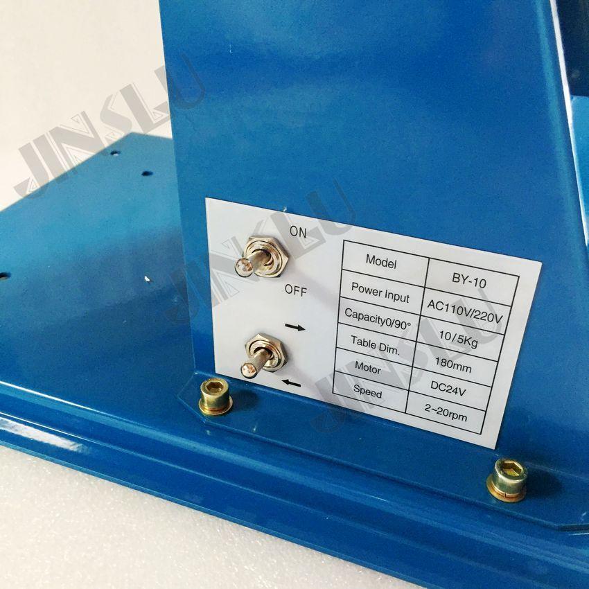 110V BY-10 mini svařovací polohovací svařovací rotátor s K01-63 - Svářecí technika - Fotografie 5