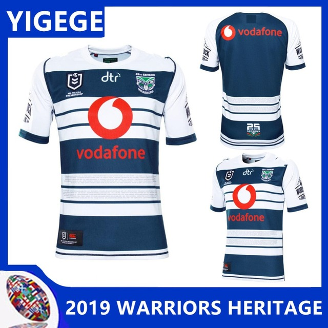 632390668 YIGEGE WARRIORS 2019 MEN S HERITAGE JERSEY New Zealand Warriors rugby  jerseys new rugby special edition Warriors