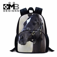 Horse School Backpacks for Kids Small Back to school back pack for Little Boys Preschool bookbag fashion Mini mochilas book bag