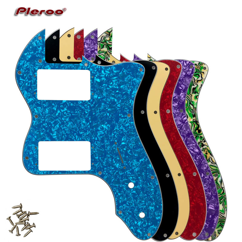 Guitar Parts - For Classic Series '72 Telecaster Tele Thinline Guitar Pickguard Scratch Plate With Wide Range Humbucker Pickups