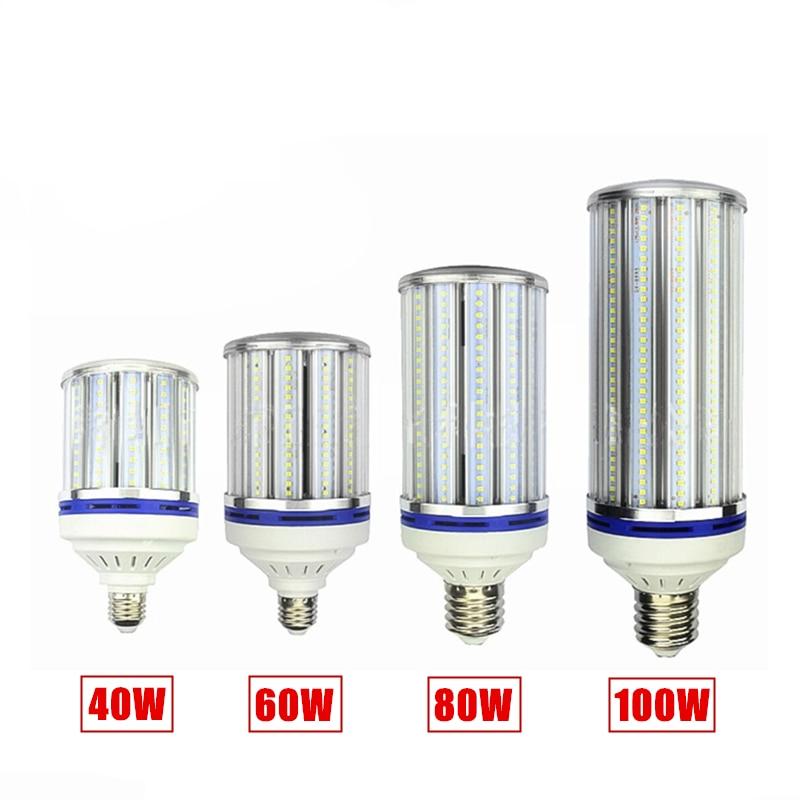 CE ROHS SAA 100 w LED ampoule e40 e27 led lampe AC220v 230 v 240 v 50/60 hz e40 100 w LED ampoule de maïs remplacer 400 w hps lampe aux halogénures métalliques