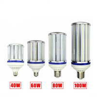 CE ROHS SAA 100W LED bulb e40 e27 led lamp AC220v 230v 240v 50/60hz e40 100w LED corn bulb replace 400w hps metal halide lamp