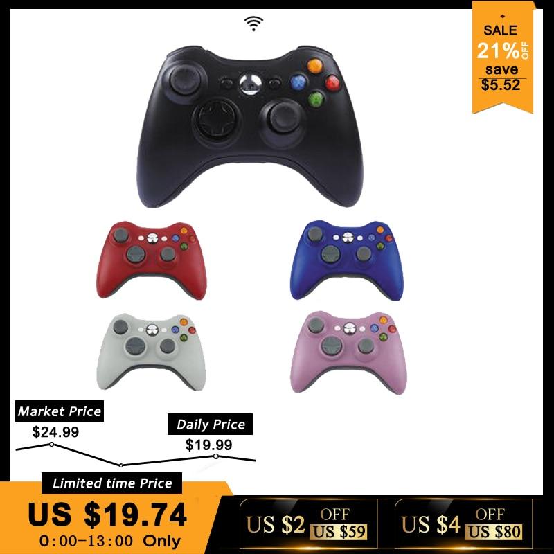 2.4g Receptor de Controle Gamepad Sem Fio Para Xbox 360 Controlador Do Console Para Xbox Microsoft 360 Jogo Joystick Para PC win7 /8/10