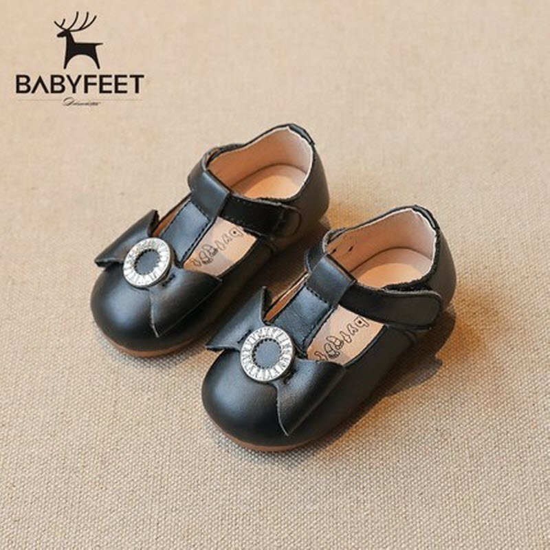 2017 Babyfeet 1-3 years old Child Girl princess shoes toddler shoes baby kids casual and formal Genuine Leather Light flat shoes