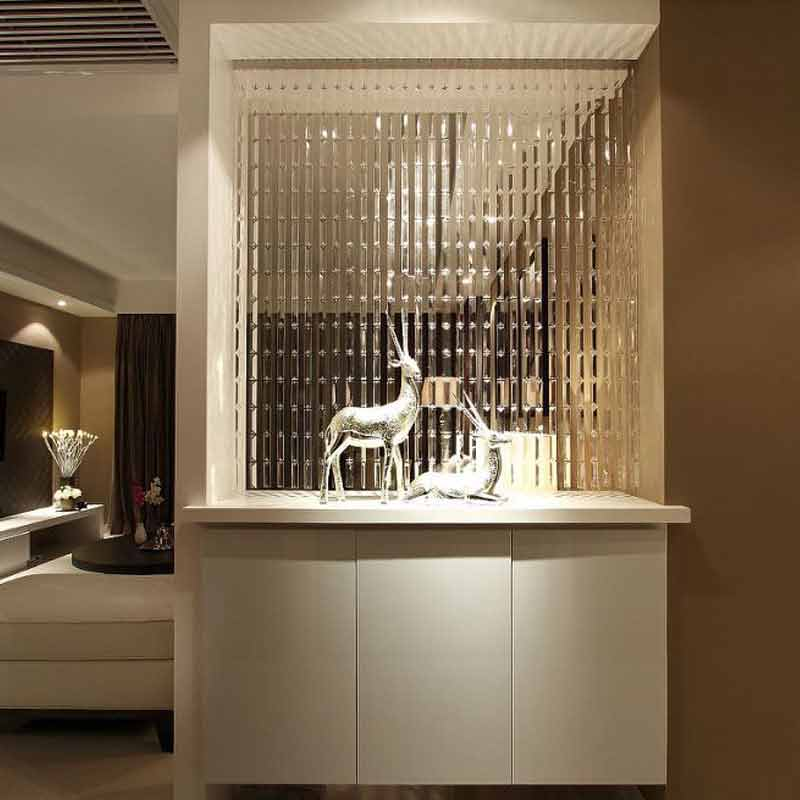 Cristal rideau de luxe mariage toile de fond décoration fournitures chaîne porte rideau fenêtre chambre diviseur décoration de la maison cortinas - 2